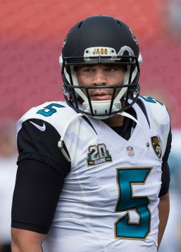 Blake Bortles by Keith Allison licensed under CC BY-SA 2.0